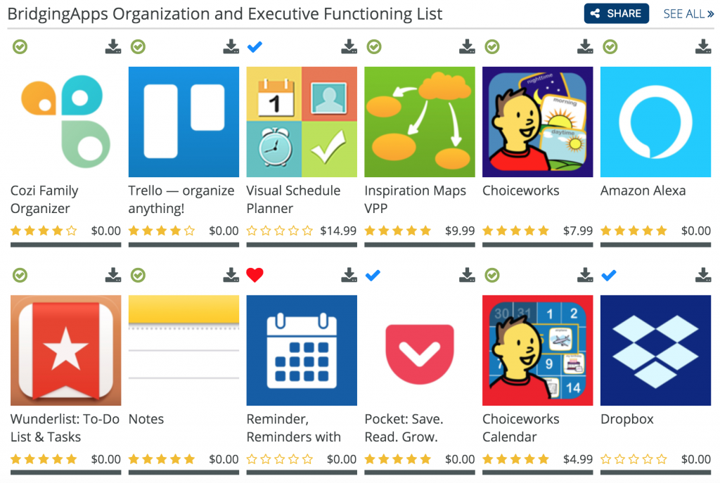 Organization Apps For 2020