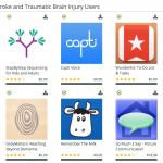 Stroke and TBI App List
