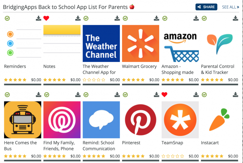 Apps for Parents Image