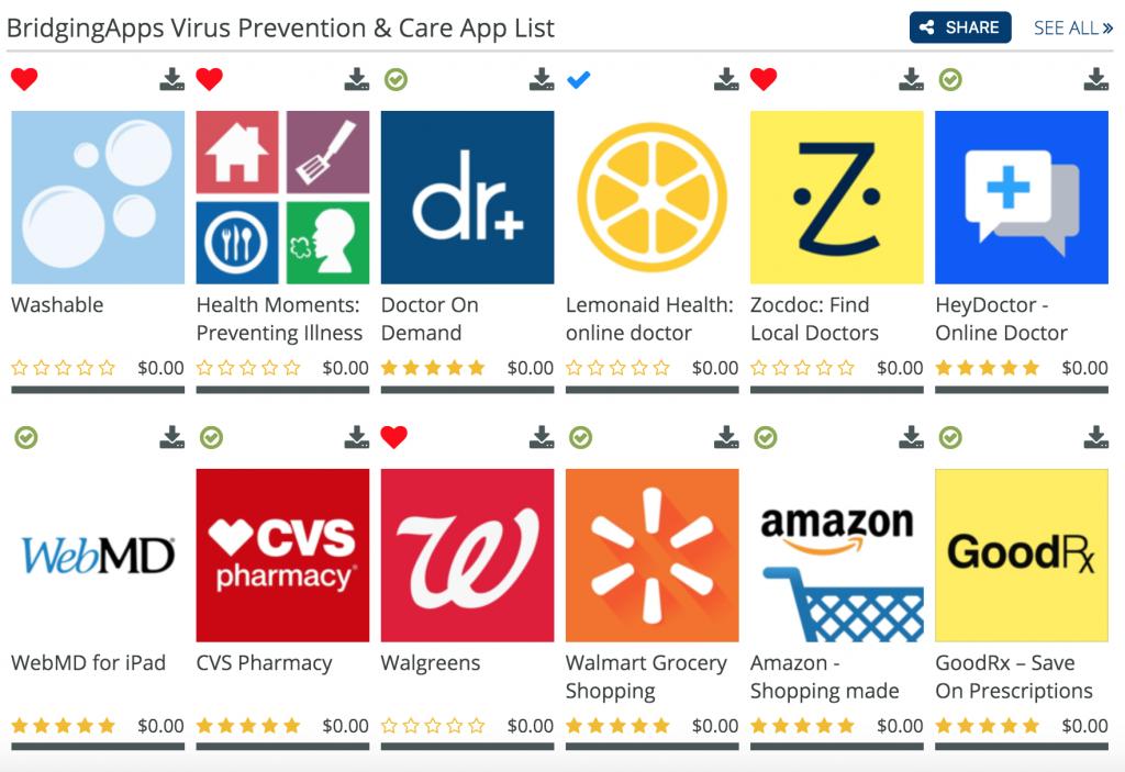 Virus Prevention & Care Apps